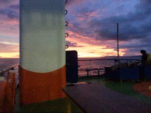 sunset ferry